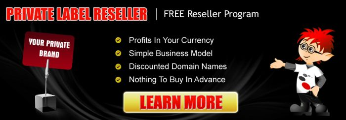 Become a Hosting Reseller!